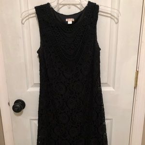 Black xhilaration dress